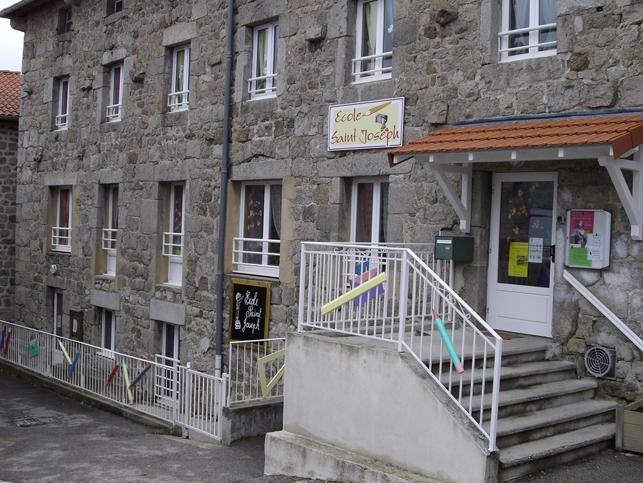 École privée Saint-Joseph à Saint-Romain-Lachalm